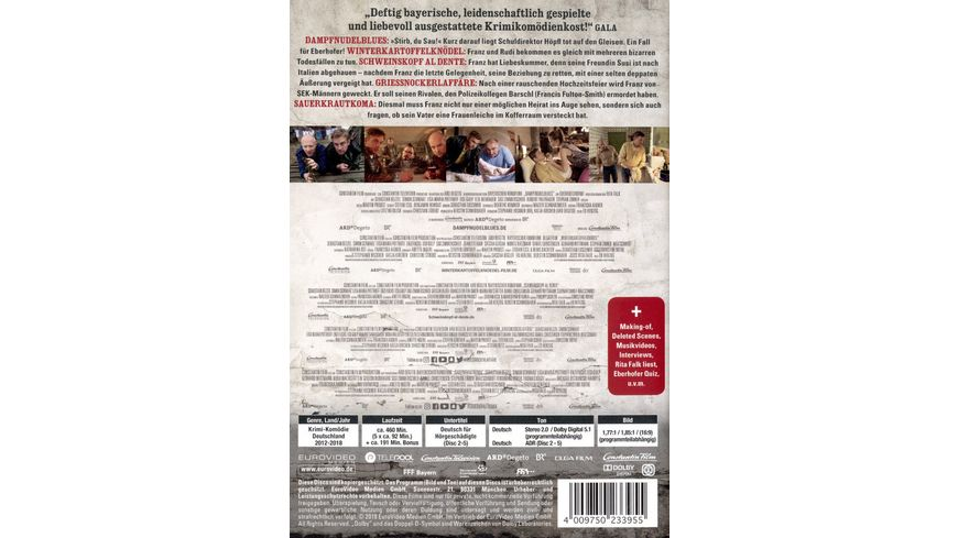 Die Eberhofer Kruzifuenferl Box 5 DVDs