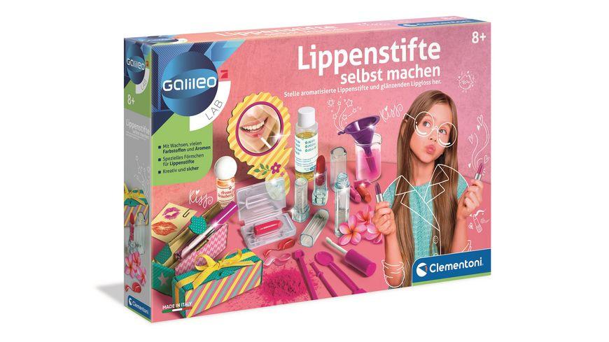Clementoni Galileo Lippenstifte selbst machen