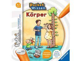 Ravensburger tiptoi Pocket Wissen Koerper