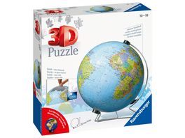 Ravensburger Puzzle 3D Puzzle Ball Globus in deutscher Sprache 540 Teile