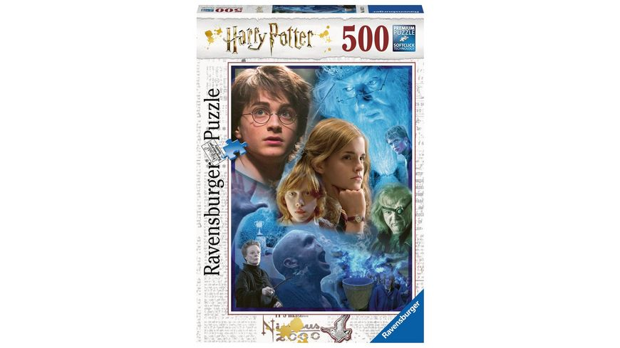 Ravensburger Puzzle Harry Potter in Hogwarts 500 Teile
