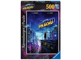 Ravensburger Puzzle Pokemon Meisterdetektiv Pikachu 500 Teile