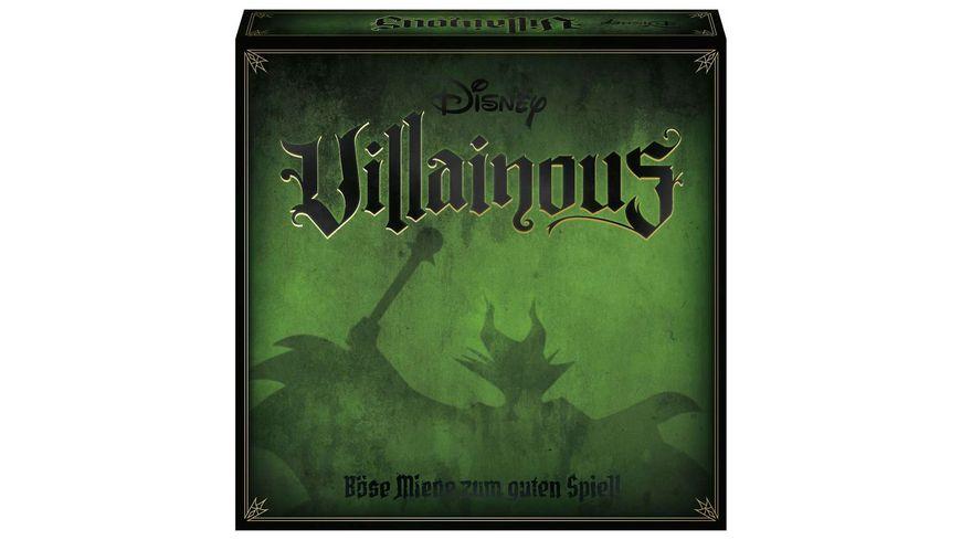 Ravensburger Spiel - Disney Villainous von WonderForge - Das spannende Strategiespiel, in dem gilt: Böse ist das neue Gut!