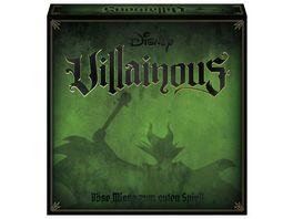 Ravensburger Spiel Disney Villainous von WonderForge Das spannende Strategiespiel in dem gilt Boese ist das neue Gut