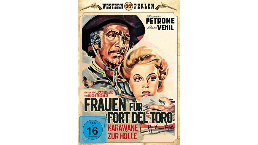 Frauen fuer Fort Del Toro Karawane zur Hoelle Western Perlen 37