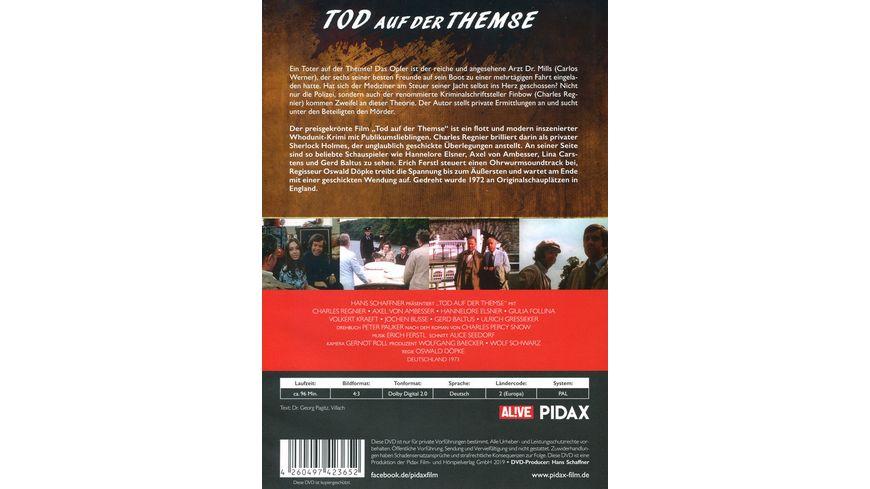 Tod auf der Themse Preisgekroenter Kriminalfilm mit Starbesetzung Pidax Film Klassiker