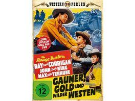 Die Range Busters Gauner Gold und Wilder Westen Western Perlen 38