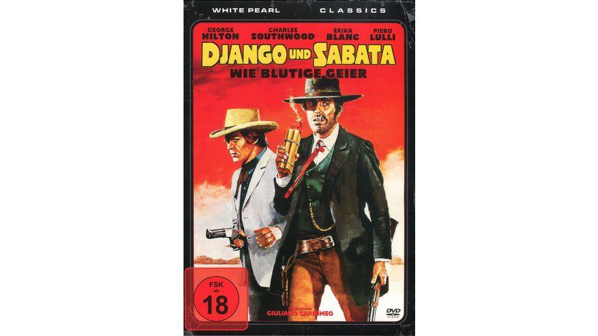 Django und Sabata Wie blutige Geier