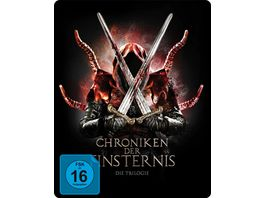 Chroniken der Finsternis Die Trilogie 3 Disc Limited Collector s SteelBook 3 BRs
