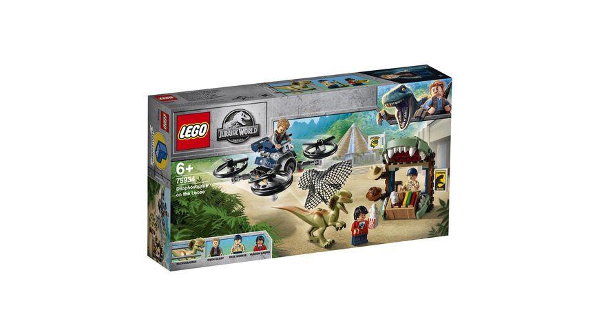 LEGO Jurassic World 75934 Dilophosaurus auf der Flucht