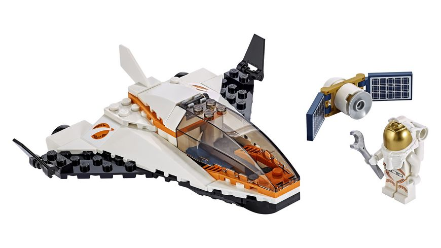 LEGO City 60224 Satelliten Wartungsmission