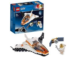 LEGO City 60224 Satelliten Wartungsmission
