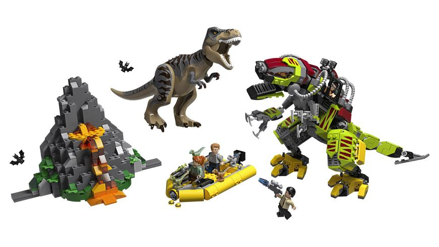 LEGO Jurassic World 75938 T Rex vs Dino Mech