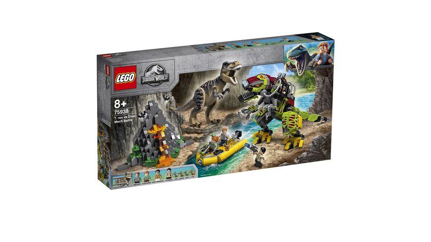 LEGO Jurassic World 75938 T Rex vs Dino Mech