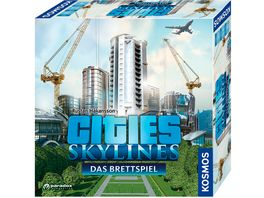 KOSMOS Cities Skylines Das Brettspiel