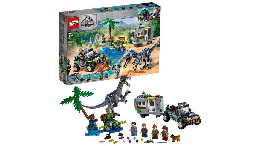 LEGO Jurassic World 75935 Baryonyxs Kraeftemessen die Schatzsuche