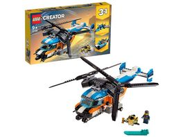 LEGO Creator 31096 Doppelrotor Hubschrauber