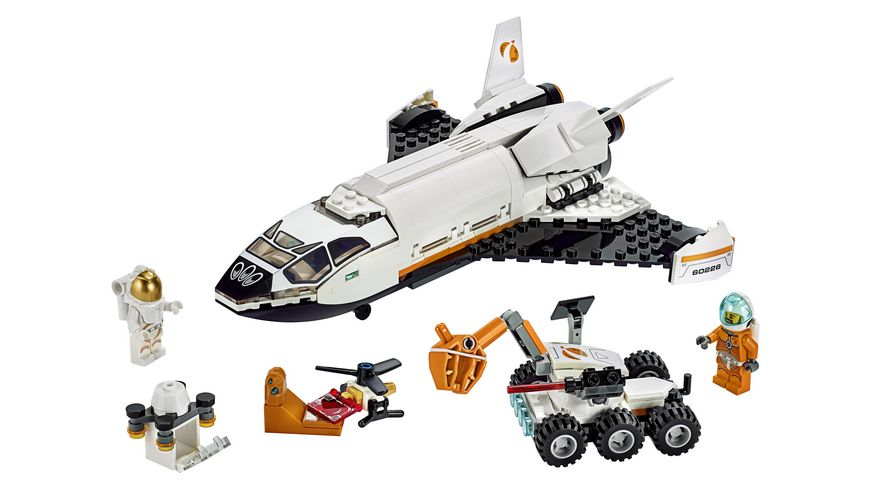 LEGO City 60226 Mars Forschungsshuttle
