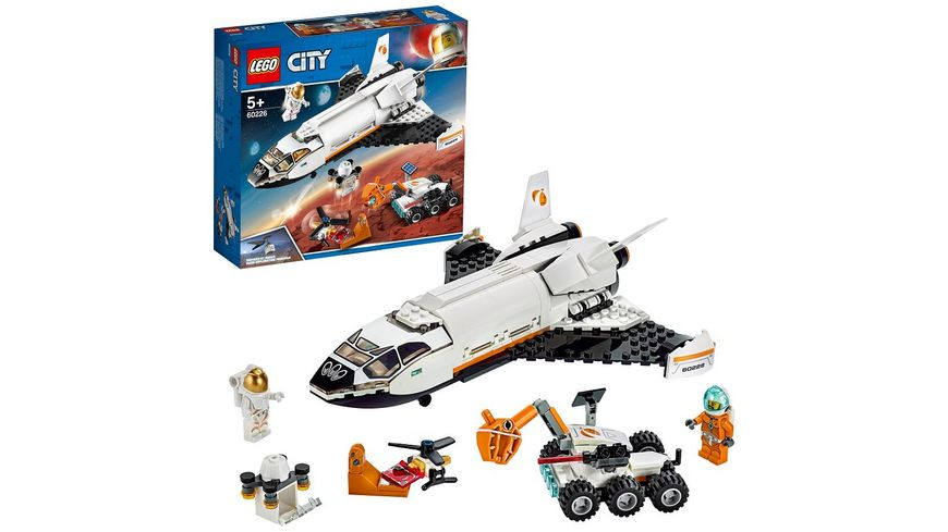 LEGO City - 60226 Mars-Forschungsshuttle