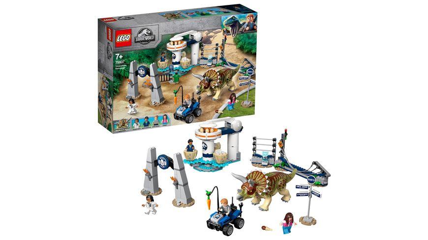 LEGO Jurassic World 75937 Triceratops Randale