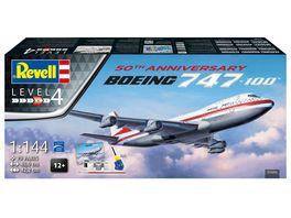 Revell 05686 Geschenkset Boeing 747 100 50th Anniversary