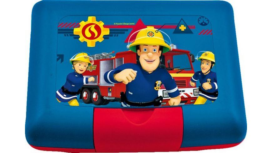 p os Brotdose Feuerwehrmann Sam