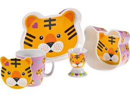 MAXWELL WILLIAMS Kindergeschirr Set Tiger