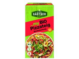 NICOL GAeRTNER myBIO Pizzateig Backmischung