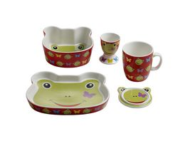 MAXWELL WILLIAMS Kindergeschirr Set Frosch Design