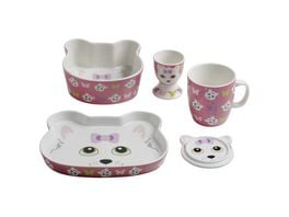 MAXWELL WILLIAMS Kindergeschirr Set Katzen Design