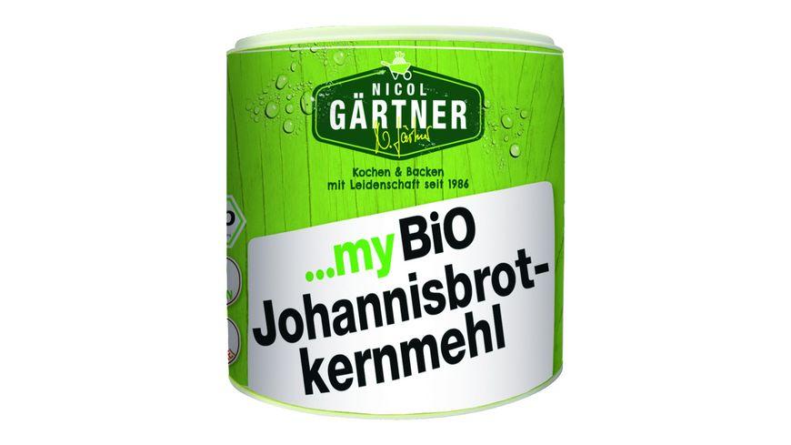 NICOL GAeRTNER myBIO Johannisbrotkernmehl
