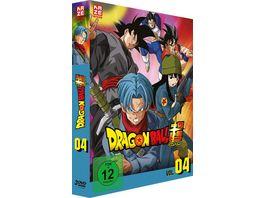 Dragonball Super 4 Arc Trunks aus der Zukunft Episoden 47 61 3 DVDs