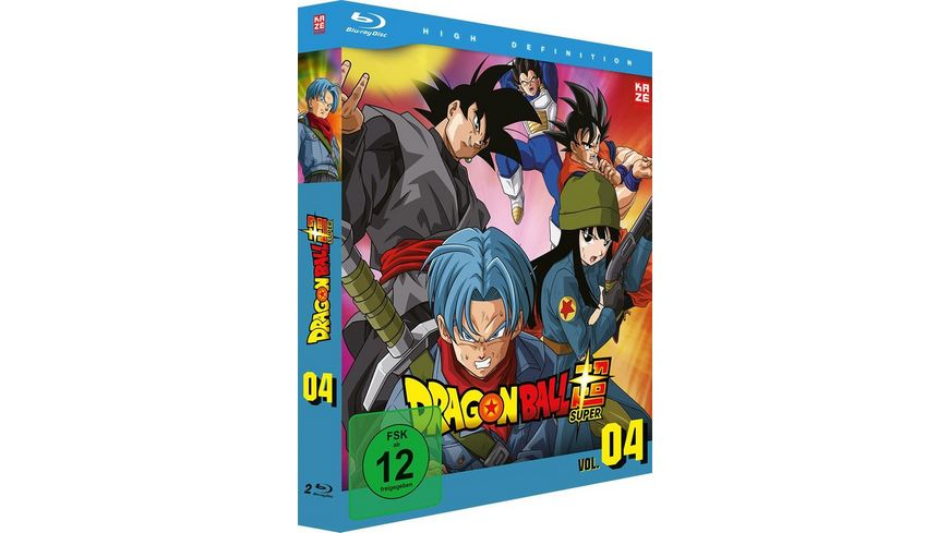 Dragonball Super 4 Arc Trunks aus der Zukunft Episoden 47 61 2 Blu rays