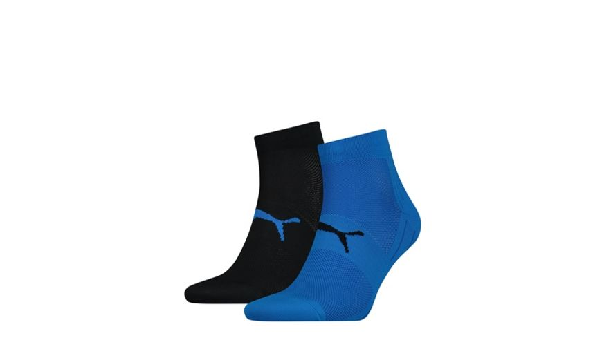 PUMA Socken Performance Train Light Quarter Unisex 2er Pack