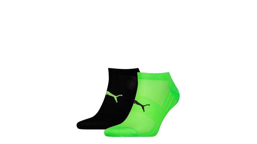 PUMA Unisex Sneaker Socken Performance Train Light 2er Pack