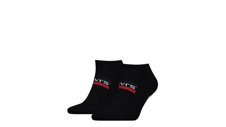 Levis Sport Socken Low Cut 168SF Unisex 2er Pack