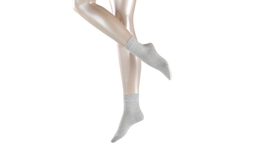 ESPRIT Damen Socken Nice Stripe Dot 2 Pack