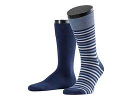 ESPRIT Unisex Socken Multistripe 2er Pack