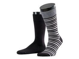 ESPRIT Unisex Socken Multistripe 2 Pack