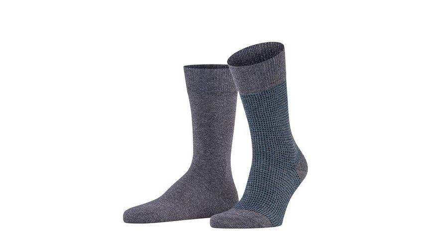 ESPRIT Unisex Socken Contrasty Pique 2 Pack