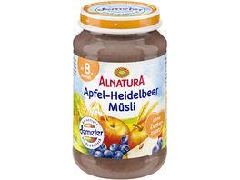 Alnatura Apfel Heidelbeer Muesli Baby 190G