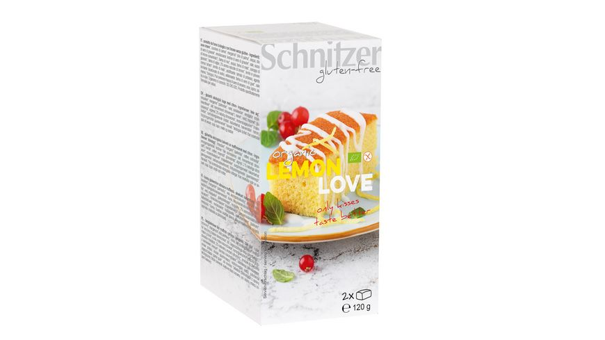 Schnitzer glutenfree Zitronenkuchen Lemon Love