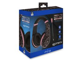 Sony Stereo Gaming Headset Rose Gold Ed Abstract Black