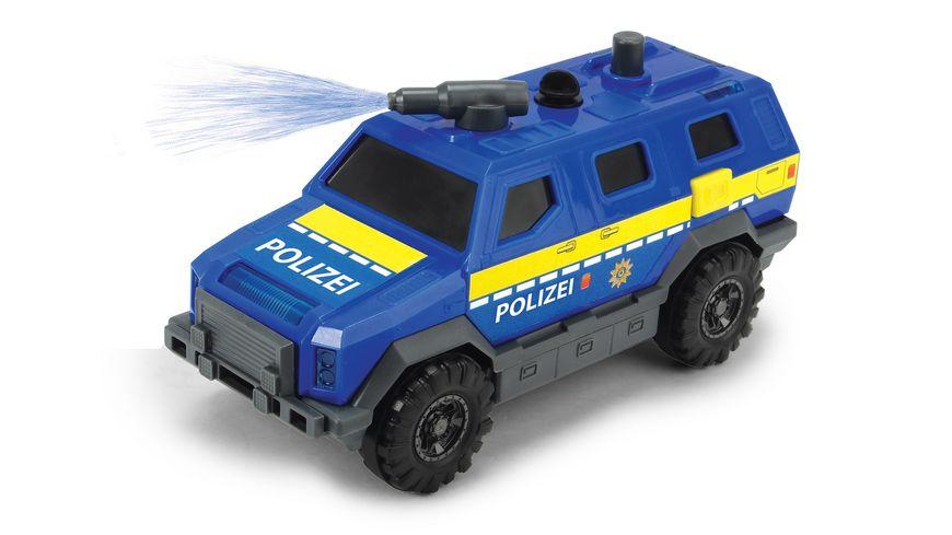 Dickie Special Forces SWAT Polizeiauto mit Freilauf Wasserspritzfunktion Licht und Sound