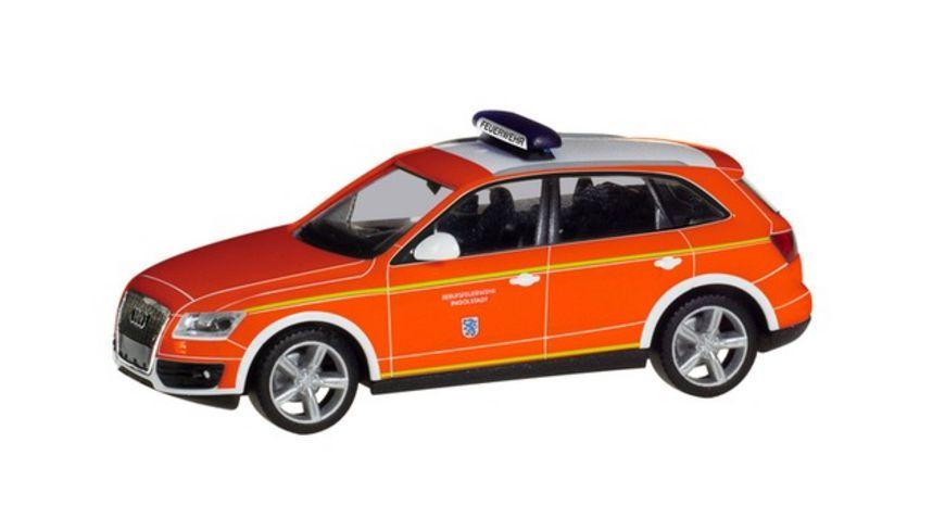 Herpa 094344 Audi Q5 Kommandowagen Feuerwehr Ingolstadt
