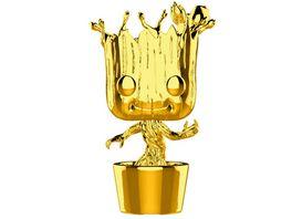 Funko POP Marvel Studios Groot Chrome Bobble Head Figur