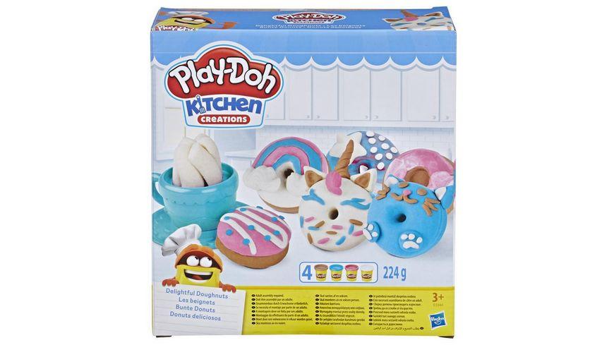 Hasbro Play Doh Bunte Donuts
