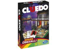 Hasbro Gaming Cluedo Kompakt