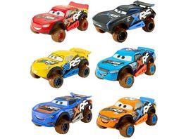 Mattel Disney Cars 3 Xtreme Racing Serie Schlammrennen Fahrzeug 1 Stueck sortiert