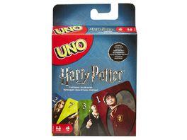 Mattel Games UNO Harry Potter Kartenspiel Kinderspiel Gesellschaftsspiel